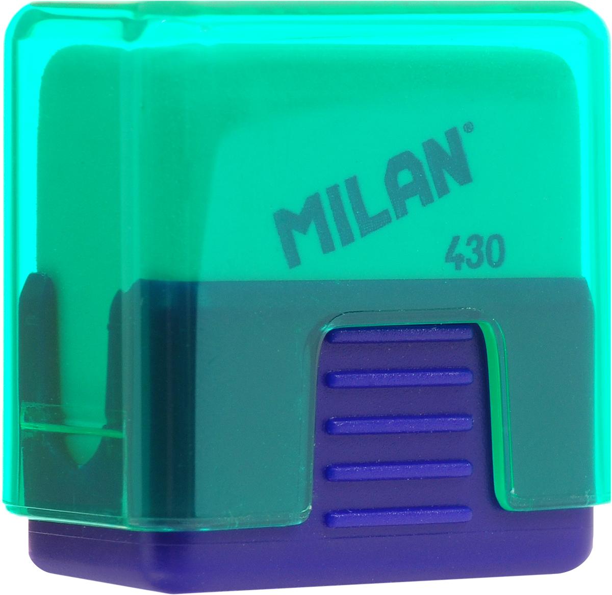 Milan Ластик School 430 цвет зеленый синийCMMS430_зеленый, синийЛастик Milan School 430 - это ластик с пластиковым держателем в эргономичном компактном корпусе. Заменяемый ластик.