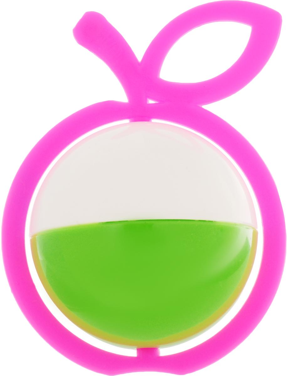 Аэлита Погремушка Яблоко цвет розовый белый зеленый