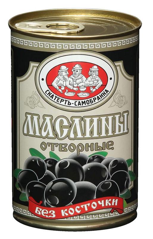 Скатерть-Самобранка маслины без косточки, 314 мл4041811119013Черные маслины без косточки