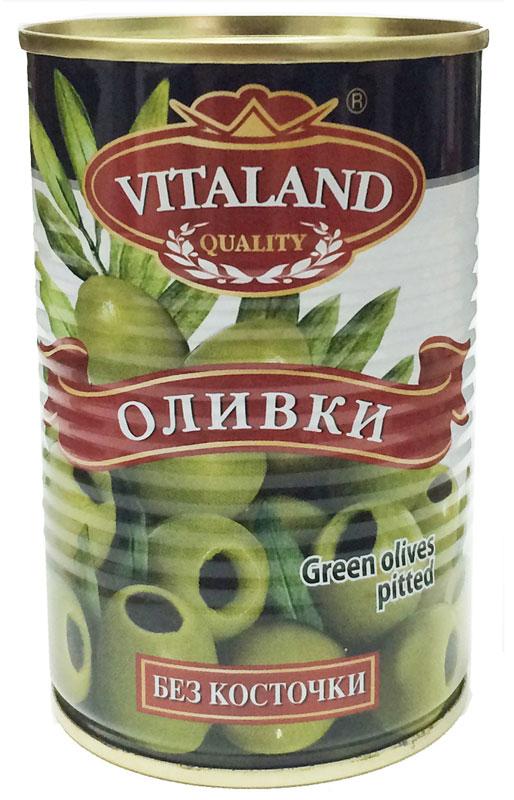 Vitaland оливки без косточки, 314 мл4041811119037Особое место на вашем столе по праву может занять традиционный компонент средиземноморской кухни – оливки и маслины. Пищевая и гастрономическая ценность данного продукта заслуженно оценена потребителями. Эти небольшие аппетитные плоды богаты ненасыщенными кислотами, витаминами и минералами.