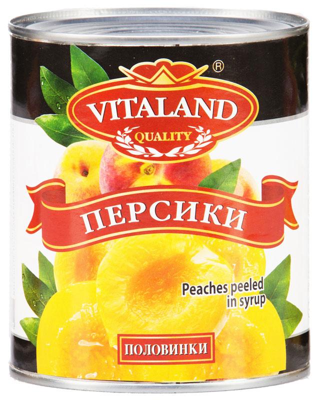 Vitaland персики, 850 мл