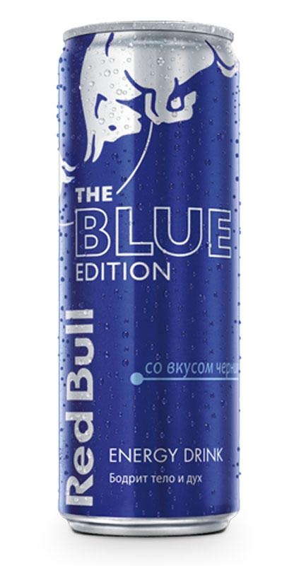 Red Bull Blue edition энергетический напиток, 250 мл