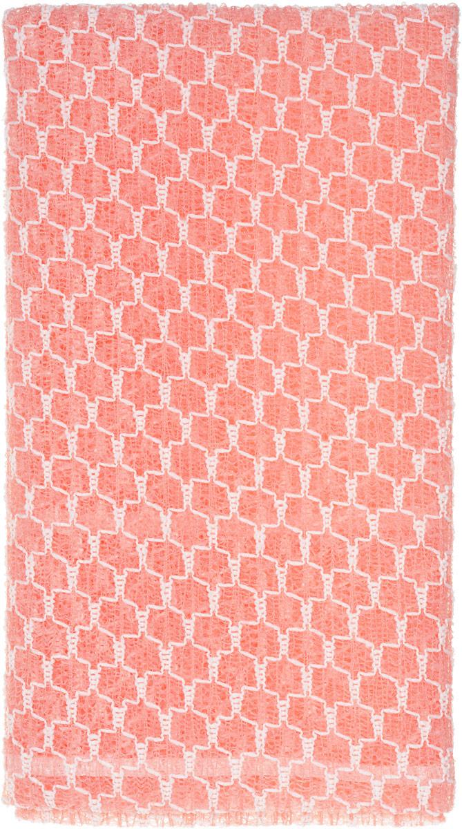 SungBo Мочалка для душа Clean&Beauty Royal, цвет: розовый, 28 х 90 смУТ000000673_розовыйБлагодаря оригинальной вязке из гофрированного волокна мочалка создает одновременно ощущение мягкости так и ощущение пилинга, нежно отшелушивая огрубевшую кожу. Шероховатая текстура стимулирует циркуляцию крови по всему телу и помогает сохранить здоровье и упругость кожи. Мочалка позволяет получать обильную пену, используя небольшое количество геля для душа. Ее легко мыть, и она быстро сохнет. Высококачественное волокно обеспечивает долговечность. Характеристики: Материал: нейлон, полиэстер. Размер мочалки: 28 см х 90 см.