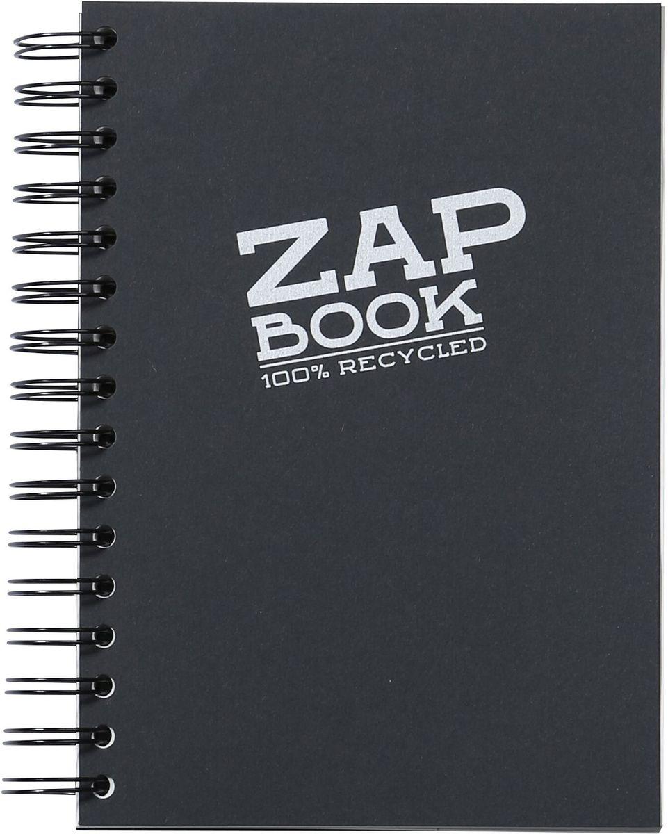 Блокнот Clairefontaine Zap Book, на спирали, цвет: черный, формат A4, 160 листов8363СОригинальный блокнот Clairefontaine идеально подойдет для памятных записей, любимых стихов, рисунков и многого другого. Плотная обложка предохраняет листы от порчи и замятия. Такой блокнот станет забавным и практичным подарком - он не затеряется среди бумаг, и долгое время будет вызывать улыбку окружающих.