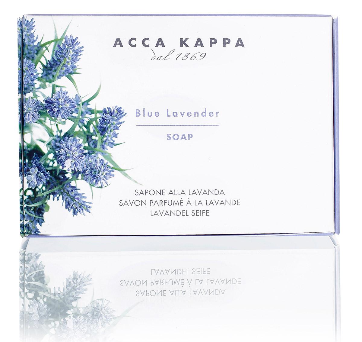 Acca Kappa Мыло туалетное Лаванда 150 гр853170Мыло создано с использованием традиционных методов из сырья исключительно растительного происхождения.