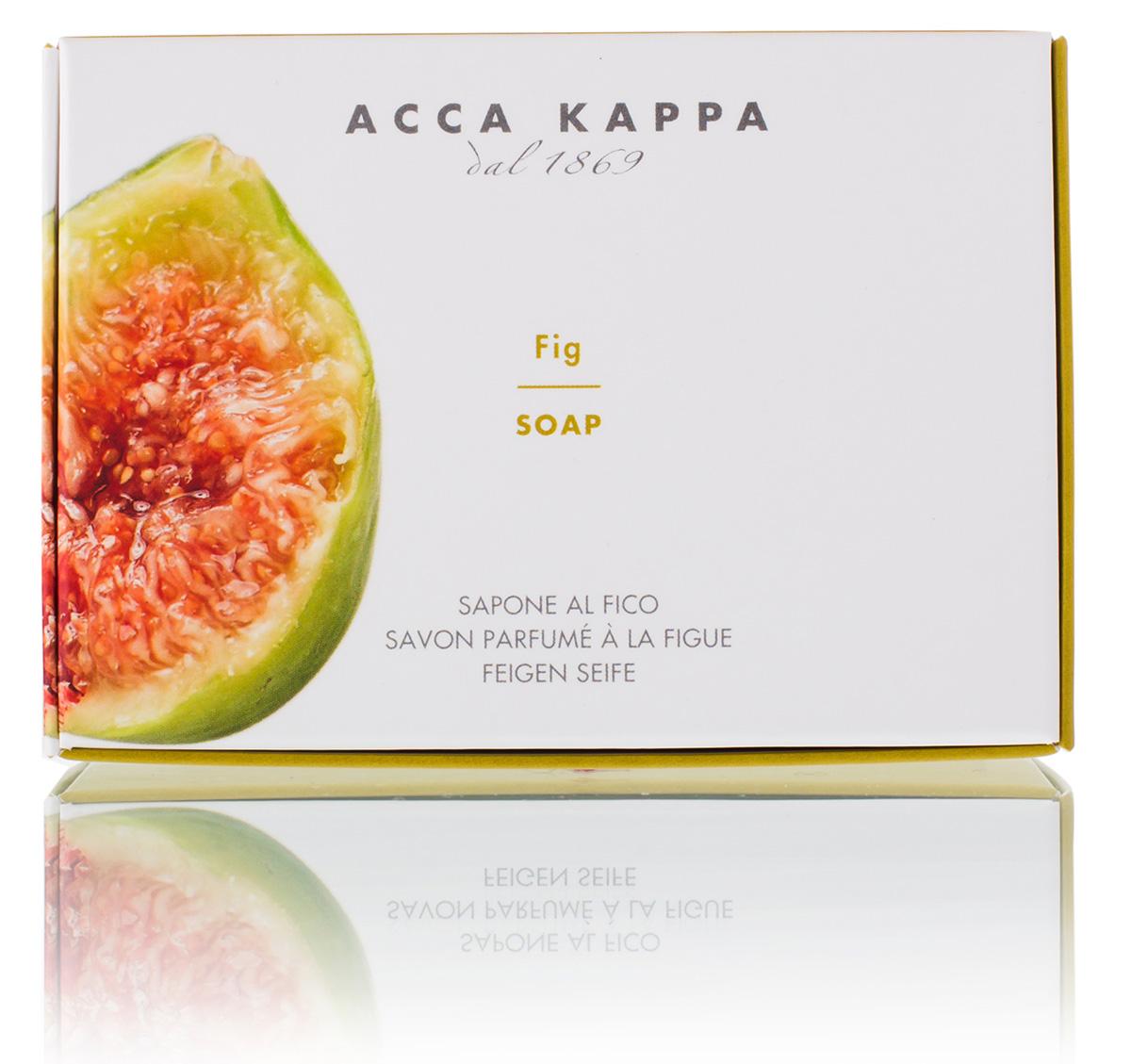 Acca Kappa Мыло туалетное Фига 150 гр853316Мыло создано с использованием традиционных методов из сырья исключительно растительного происхождения.