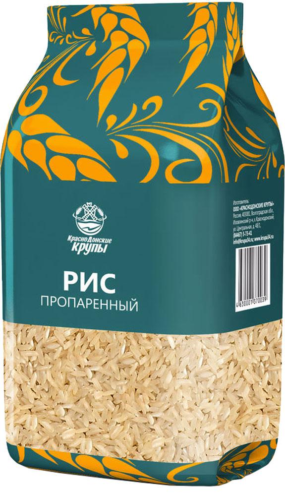 Краснодонские крупы рис пропаренный, 800 г 4630001370039