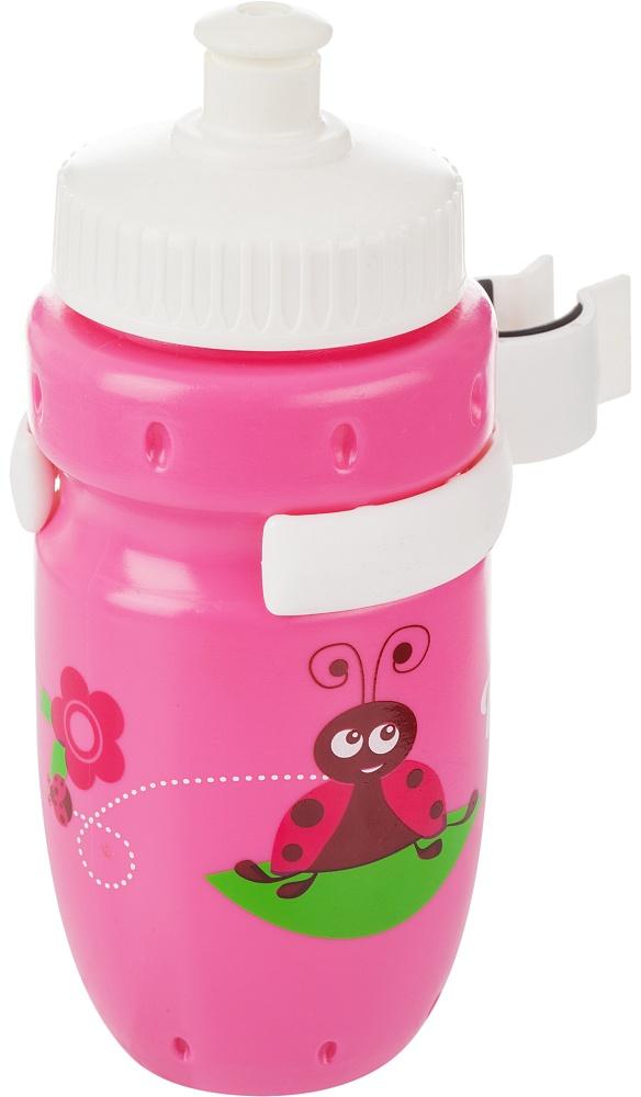 Фляга велосипедная Cyclotech, цвет: розовый, 350 млCBS-1PNДетская питьевая фляга с держателем. Крепится на руль. Выполнена из пищевого пластика. Объем 350 мл.