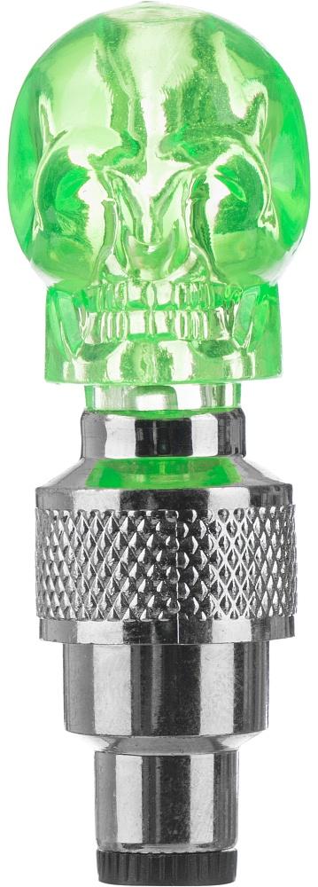 Фонарь велосипедный Cyclotech, декоративный, на ниппели, цвет: зеленыйCNL-2GRДекоративные фонари на ниппели автоматически загораются при езде. Подходят любых ниппелей Количество светодиодов и режимов работы - один.