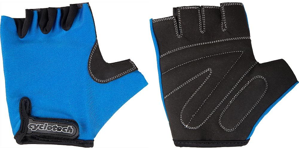 Велоперчатки Cyclotech Wind Bike, цвет: черный, синий. Размер SWIND-BПрочные перчатки не дают руке скользить на руле и частично гасят вибрации. Отлично садятся по руке, хорошо вентилируются.