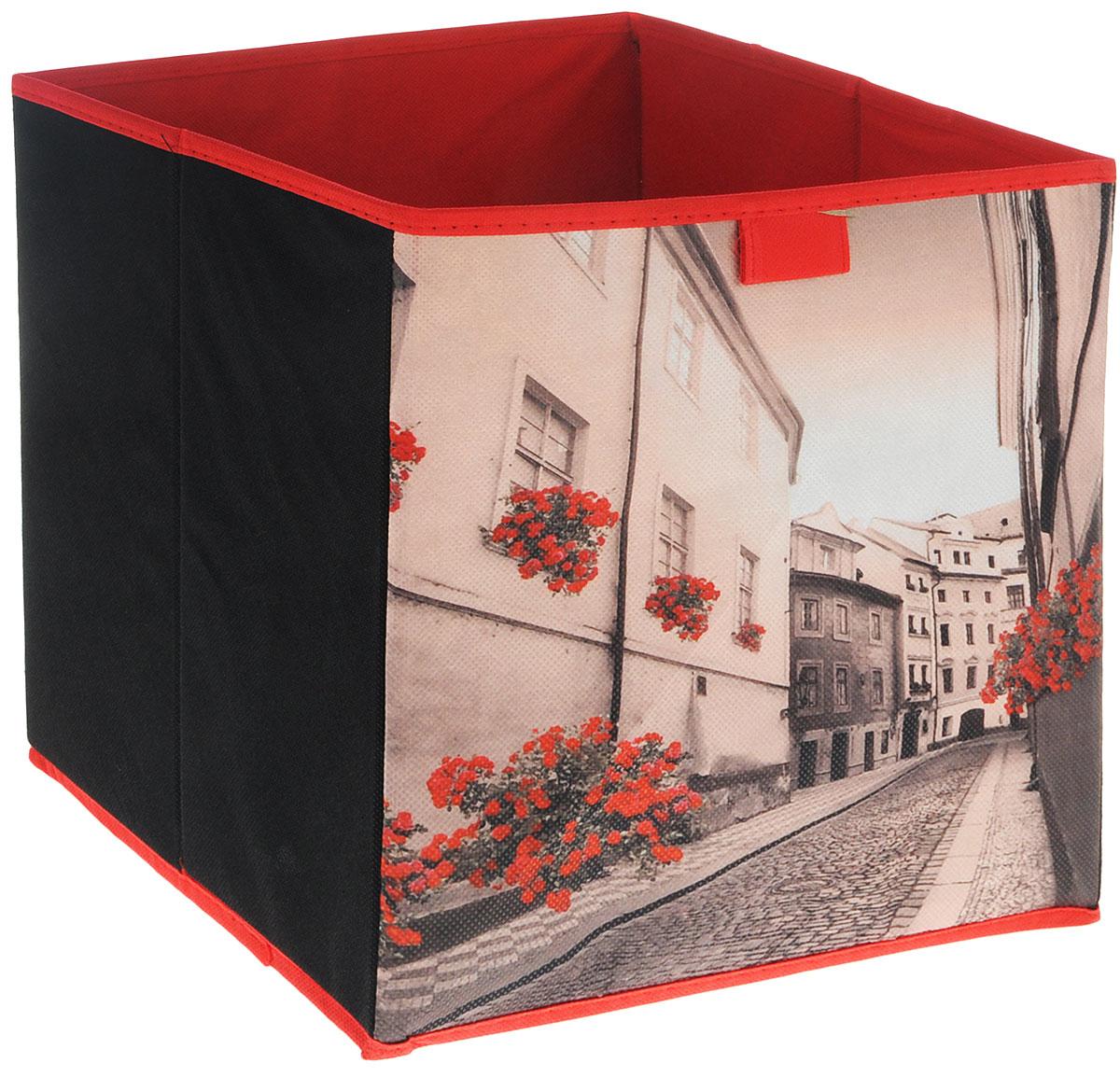 Коробка для хранения Youll love, цвет: красный, 27 х 27 х 28 см70850_красный