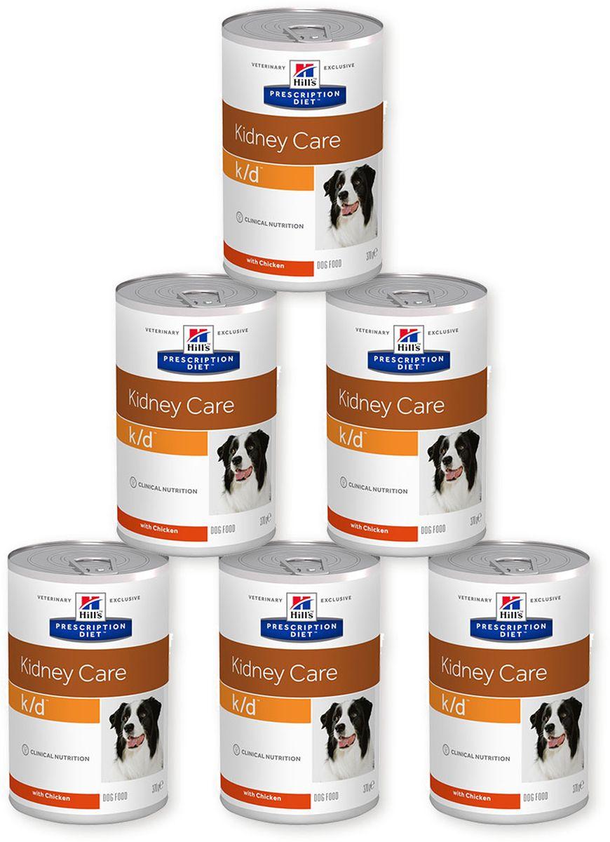 Консервы для собак Hills K/D, диетические, для лечения заболеваний почек, 370 г х 6 шт8010Консервы для собак Hills K/D - полноценный диетический рацион для собак. Поддерживает функции почек при хронической или острой почечной недостаточности. Содержит пониженный уровень фосфора и оптимальный уровень протеинов высокой биологической ценности. Ингредиенты: кукурузный крахмал, свиная печень, животный жир, сахароза, семя льна, сухой яичный белок, сухая сыворотка, гидролизат белка, кальция карбонат, карамель, кальция сульфат, калия хлорид, магния оксид, йодированная соль, витамины и микроэлементы. Среднее содержание нутриентов: бета-каротин 0,45 мг/кг, витамин А 10000 МЕ/кг, витамин D 490 МЕ/кг, витамин Е 165 мг/кг, витамин С 21 мг/кг, влага 70,3%, жиры 7,9%, калий 0,11%, кальций 0,23%, клетчатка 0,1%, магний 0,04%, натрий 0,05%, омега-3 жирные кислоты 0,57%, омега-6 жирные кислоты 1,29%, протеин 4,5%, таурин 0,03%, углеводы 16,1%, фосфор 0,07%. Вес: 370 г. Товар сертифицирован. Уважаемые клиенты! ...