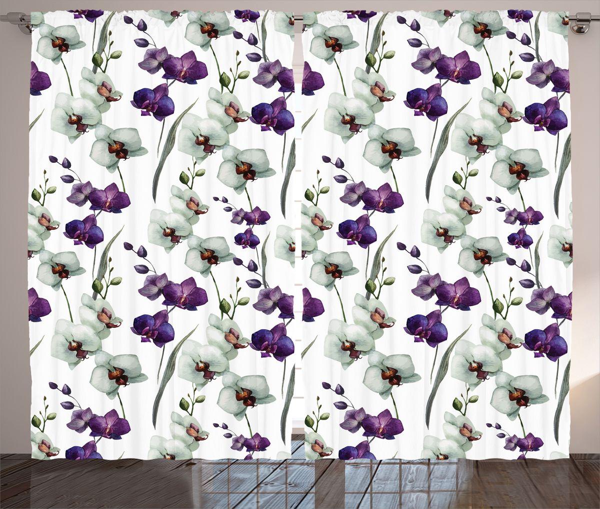 Комплект фотоштор Magic Lady Акварельные орхидеи, на ленте, высота 265 см. шсг_13887шсг_13887Компания Сэмболь изготавливает шторы из высококачественного сатена (полиэстер 100%). При изготовлении используются специальные гипоаллергенные чернила для прямой печати по ткани, безопасные для человека и животных. Экологичность продукции Magic lady и безопасность для окружающей среды подтверждены сертификатом Oeko-Tex Standard 100. Крепление: крючки для крепления на шторной ленте (50 шт). Возможно крепление на трубу. Внимание! При нанесении сублимационной печати на ткань технологическим методом при температуре 240°С, возможно отклонение полученных размеров (указанных на этикетке и сайте) от стандартных на + - 3-5 см. Производитель старается максимально точно передать цвета изделия на фотографиях, однако искажения неизбежны и фактический цвет изделия может отличаться от воспринимаемого по фото. Обратите внимание! Шторы изготовлены из полиэстра сатенового переплетения, а не из сатина (хлопок). Размер одного полотна шторы: 145х265 см. В комплекте 2...