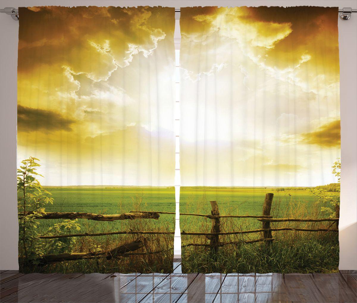 Комплект фотоштор Magic Lady Бежевые облака над полем, на ленте, высота 265 см. шсг_14890шсг_14890Компания Сэмболь изготавливает шторы из высококачественного сатена (полиэстер 100%). При изготовлении используются специальные гипоаллергенные чернила для прямой печати по ткани, безопасные для человека и животных. Экологичность продукции Magic lady и безопасность для окружающей среды подтверждены сертификатом Oeko-Tex Standard 100. Крепление: крючки для крепления на шторной ленте (50 шт). Возможно крепление на трубу. Внимание! При нанесении сублимационной печати на ткань технологическим методом при температуре 240°С, возможно отклонение полученных размеров (указанных на этикетке и сайте) от стандартных на + - 3-5 см. Производитель старается максимально точно передать цвета изделия на фотографиях, однако искажения неизбежны и фактический цвет изделия может отличаться от воспринимаемого по фото. Обратите внимание! Шторы изготовлены из полиэстра сатенового переплетения, а не из сатина (хлопок). Размер одного полотна шторы: 145х265 см. В комплекте 2...