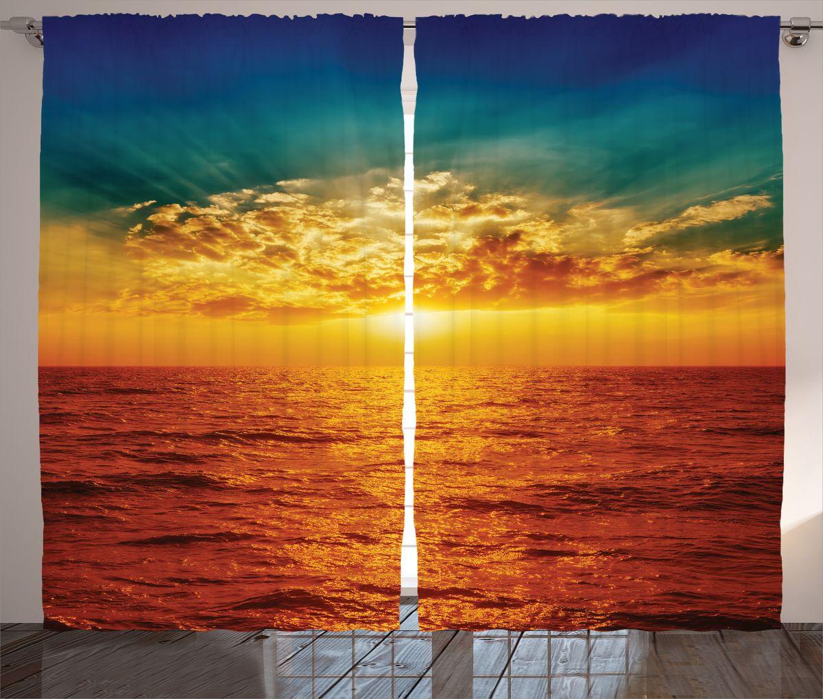 Комплект фотоштор Magic Lady Красное море, на ленте, высота 265 см. шсг_15031шсг_15031Компания Сэмболь изготавливает шторы из высококачественного сатена (полиэстер 100%). При изготовлении используются специальные гипоаллергенные чернила для прямой печати по ткани, безопасные для человека и животных. Экологичность продукции Magic lady и безопасность для окружающей среды подтверждены сертификатом Oeko-Tex Standard 100. Крепление: крючки для крепления на шторной ленте (50 шт). Возможно крепление на трубу. Внимание! При нанесении сублимационной печати на ткань технологическим методом при температуре 240°С, возможно отклонение полученных размеров (указанных на этикетке и сайте) от стандартных на + - 3-5 см. Производитель старается максимально точно передать цвета изделия на фотографиях, однако искажения неизбежны и фактический цвет изделия может отличаться от воспринимаемого по фото. Обратите внимание! Шторы изготовлены из полиэстра сатенового переплетения, а не из сатина (хлопок). Размер одного полотна шторы: 145х265 см. В комплекте 2...