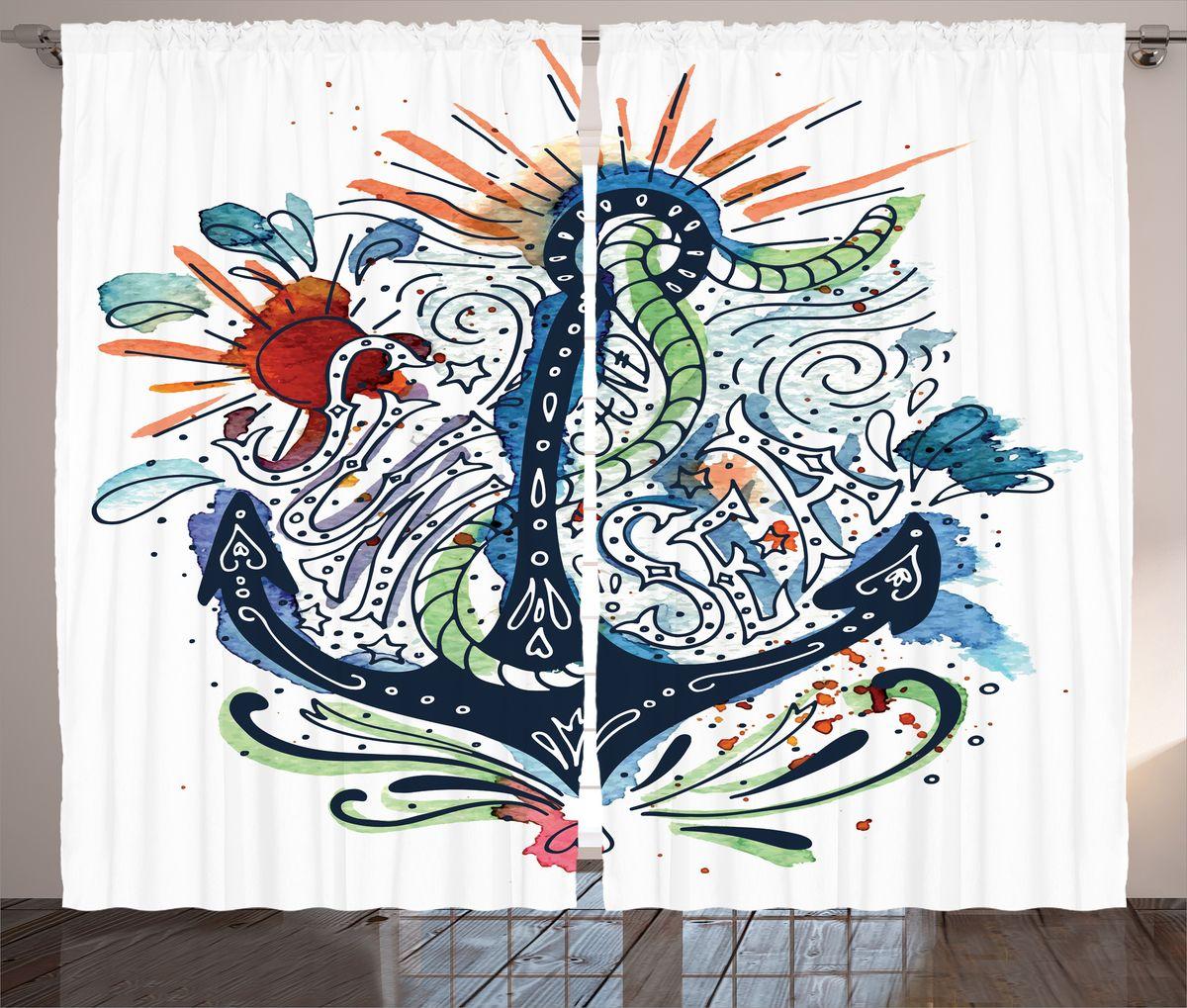 Комплект фотоштор Magic Lady Sun and sea, на ленте, высота 265 см. шсг_15936шсг_15936Компания Сэмболь изготавливает шторы из высококачественного сатена (полиэстер 100%). При изготовлении используются специальные гипоаллергенные чернила для прямой печати по ткани, безопасные для человека и животных. Экологичность продукции Magic lady и безопасность для окружающей среды подтверждены сертификатом Oeko-Tex Standard 100. Крепление: крючки для крепления на шторной ленте (50 шт). Возможно крепление на трубу. Внимание! При нанесении сублимационной печати на ткань технологическим методом при температуре 240°С, возможно отклонение полученных размеров (указанных на этикетке и сайте) от стандартных на + - 3-5 см. Производитель старается максимально точно передать цвета изделия на фотографиях, однако искажения неизбежны и фактический цвет изделия может отличаться от воспринимаемого по фото. Обратите внимание! Шторы изготовлены из полиэстра сатенового переплетения, а не из сатина (хлопок). Размер одного полотна шторы: 145х265 см. В комплекте 2...