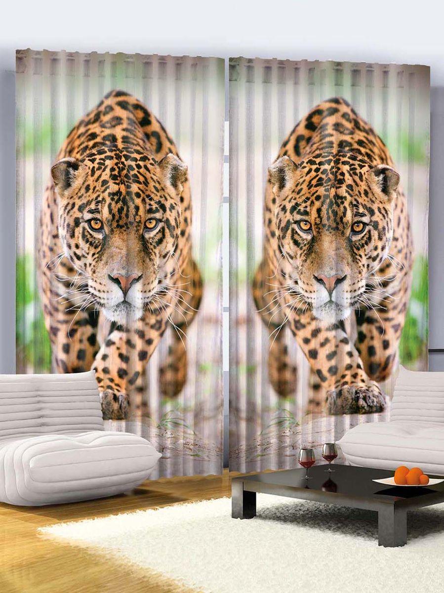 Комплект фотоштор Magic Lady Хищный леопард, на ленте, высота 265 см. шсг_768шсг_768Компания Сэмболь изготавливает шторы из высококачественного сатена (полиэстер 100%). При изготовлении используются специальные гипоаллергенные чернила для прямой печати по ткани, безопасные для человека и животных. Экологичность продукции Magic lady и безопасность для окружающей среды подтверждены сертификатом Oeko-Tex Standard 100. Крепление: крючки для крепления на шторной ленте (50 шт). Возможно крепление на трубу. Внимание! При нанесении сублимационной печати на ткань технологическим методом при температуре 240°С, возможно отклонение полученных размеров (указанных на этикетке и сайте) от стандартных на + - 3-5 см. Производитель старается максимально точно передать цвета изделия на фотографиях, однако искажения неизбежны и фактический цвет изделия может отличаться от воспринимаемого по фото. Обратите внимание! Шторы изготовлены из полиэстра сатенового переплетения, а не из сатина (хлопок). Размер одного полотна шторы: 145х265 см. В комплекте 2...