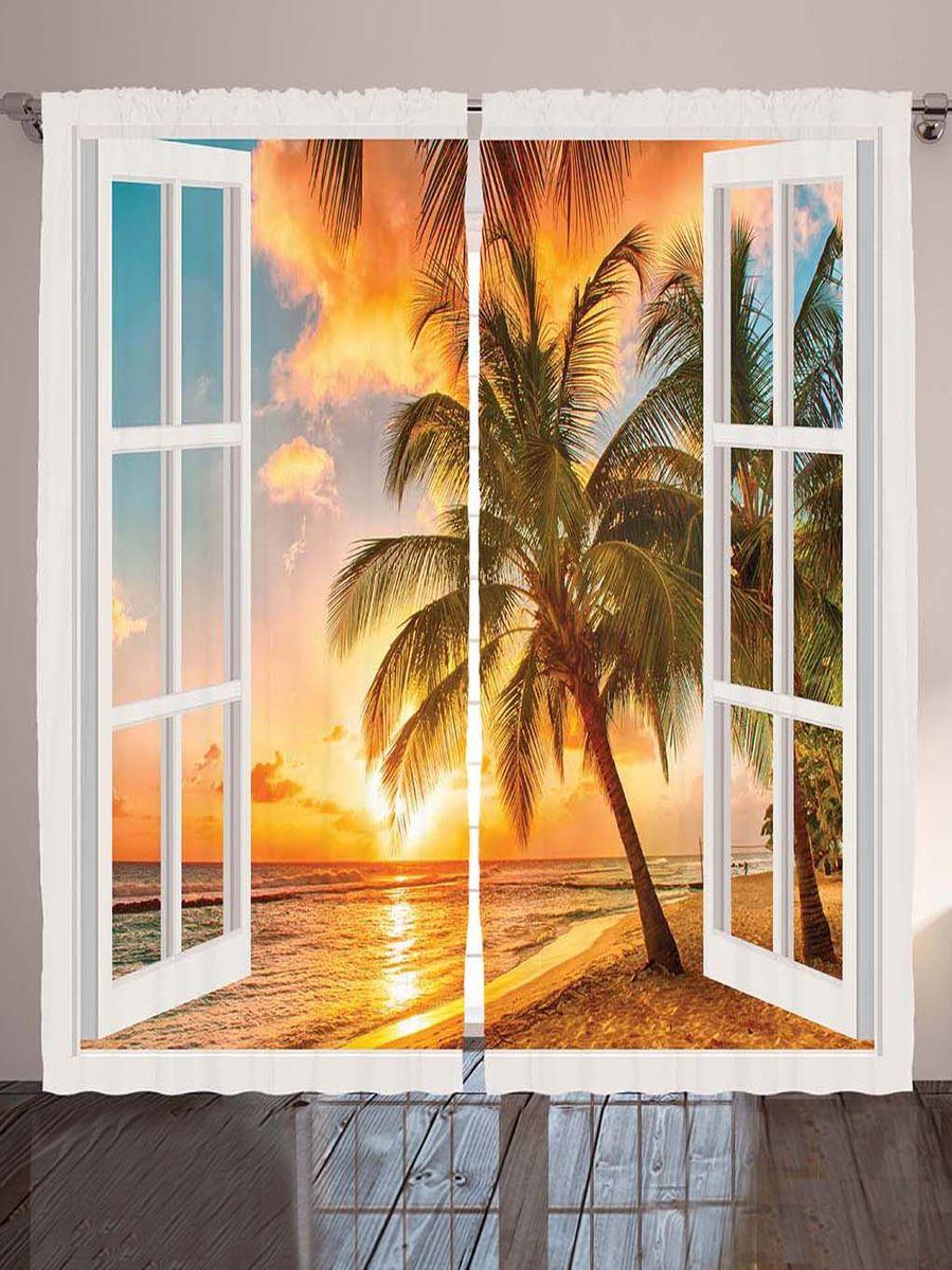 Комплект фотоштор Magic Lady Оранжевый закат за окнами, на ленте, высота 265 см. шсг_7784шсг_7784Компания Сэмболь изготавливает шторы из высококачественного сатена (полиэстер 100%). При изготовлении используются специальные гипоаллергенные чернила для прямой печати по ткани, безопасные для человека и животных. Экологичность продукции Magic lady и безопасность для окружающей среды подтверждены сертификатом Oeko-Tex Standard 100. Крепление: крючки для крепления на шторной ленте (50 шт). Возможно крепление на трубу. Внимание! При нанесении сублимационной печати на ткань технологическим методом при температуре 240°С, возможно отклонение полученных размеров (указанных на этикетке и сайте) от стандартных на + - 3-5 см. Производитель старается максимально точно передать цвета изделия на фотографиях, однако искажения неизбежны и фактический цвет изделия может отличаться от воспринимаемого по фото. Обратите внимание! Шторы изготовлены из полиэстра сатенового переплетения, а не из сатина (хлопок). Размер одного полотна шторы: 145х265 см. В комплекте 2...