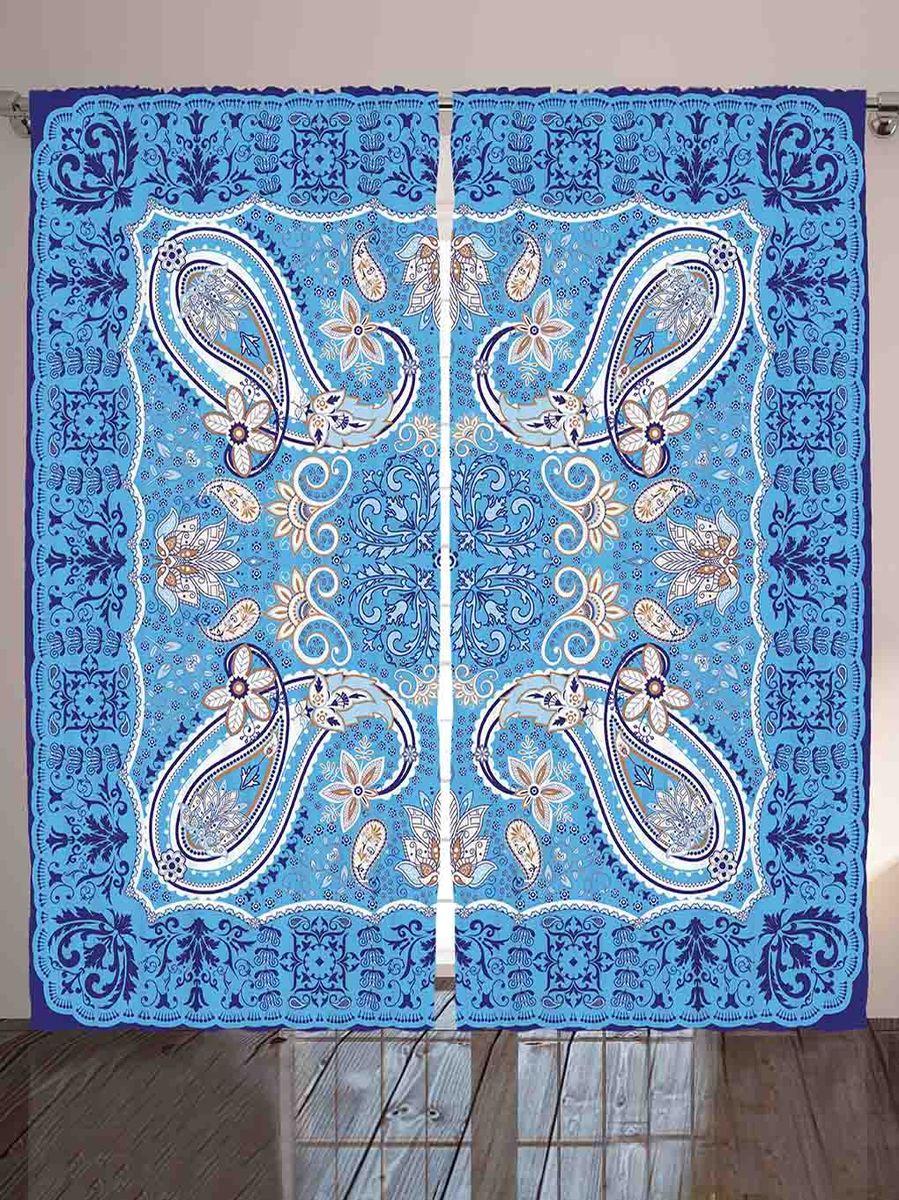 Комплект фотоштор Magic Lady Пейсли на голубом фоне, на ленте, высота 265 см. шсг_8791шсг_8791Компания Сэмболь изготавливает шторы из высококачественного сатена (полиэстер 100%). При изготовлении используются специальные гипоаллергенные чернила для прямой печати по ткани, безопасные для человека и животных. Экологичность продукции Magic lady и безопасность для окружающей среды подтверждены сертификатом Oeko-Tex Standard 100. Крепление: крючки для крепления на шторной ленте (50 шт). Возможно крепление на трубу. Внимание! При нанесении сублимационной печати на ткань технологическим методом при температуре 240°С, возможно отклонение полученных размеров (указанных на этикетке и сайте) от стандартных на + - 3-5 см. Производитель старается максимально точно передать цвета изделия на фотографиях, однако искажения неизбежны и фактический цвет изделия может отличаться от воспринимаемого по фото. Обратите внимание! Шторы изготовлены из полиэстра сатенового переплетения, а не из сатина (хлопок). Размер одного полотна шторы: 145х265 см. В комплекте 2...