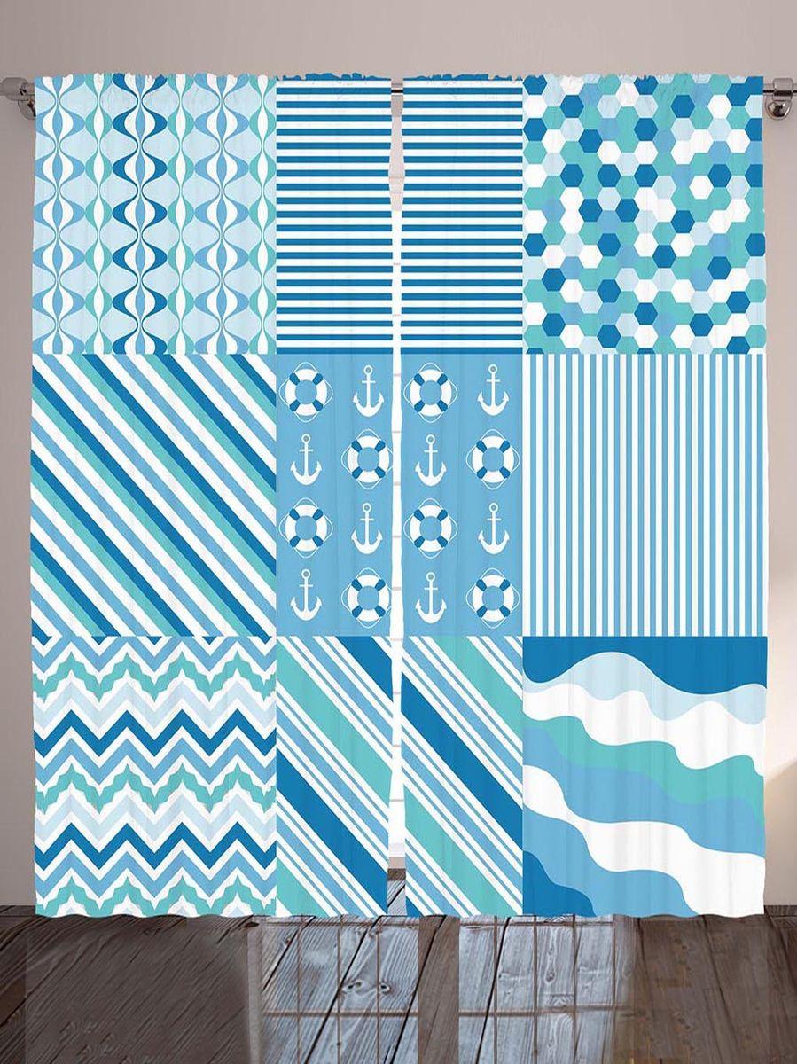 Комплект фотоштор Magic Lady Якоря, спасательные круги, полоски, зигзаги и волны, на ленте, высота 265 см. шсг_9006шсг_9006Компания Сэмболь изготавливает шторы из высококачественного сатена (полиэстер 100%). При изготовлении используются специальные гипоаллергенные чернила для прямой печати по ткани, безопасные для человека и животных. Экологичность продукции Magic lady и безопасность для окружающей среды подтверждены сертификатом Oeko-Tex Standard 100. Крепление: крючки для крепления на шторной ленте (50 шт). Возможно крепление на трубу. Внимание! При нанесении сублимационной печати на ткань технологическим методом при температуре 240°С, возможно отклонение полученных размеров (указанных на этикетке и сайте) от стандартных на + - 3-5 см. Производитель старается максимально точно передать цвета изделия на фотографиях, однако искажения неизбежны и фактический цвет изделия может отличаться от воспринимаемого по фото. Обратите внимание! Шторы изготовлены из полиэстра сатенового переплетения, а не из сатина (хлопок). Размер одного полотна шторы: 145х265 см. В комплекте 2...