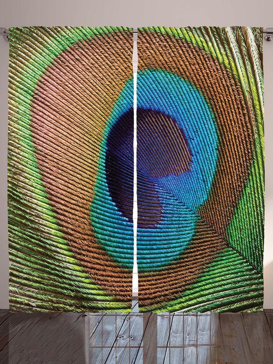 Комплект фотоштор Magic Lady Перо павлина, на ленте, высота 265 см. шсг_9036шсг_9036Компания Сэмболь изготавливает шторы из высококачественного сатена (полиэстер 100%). При изготовлении используются специальные гипоаллергенные чернила для прямой печати по ткани, безопасные для человека и животных. Экологичность продукции Magic lady и безопасность для окружающей среды подтверждены сертификатом Oeko-Tex Standard 100. Крепление: крючки для крепления на шторной ленте (50 шт). Возможно крепление на трубу. Внимание! При нанесении сублимационной печати на ткань технологическим методом при температуре 240°С, возможно отклонение полученных размеров (указанных на этикетке и сайте) от стандартных на + - 3-5 см. Производитель старается максимально точно передать цвета изделия на фотографиях, однако искажения неизбежны и фактический цвет изделия может отличаться от воспринимаемого по фото. Обратите внимание! Шторы изготовлены из полиэстра сатенового переплетения, а не из сатина (хлопок). Размер одного полотна шторы: 145х265 см. В комплекте 2...