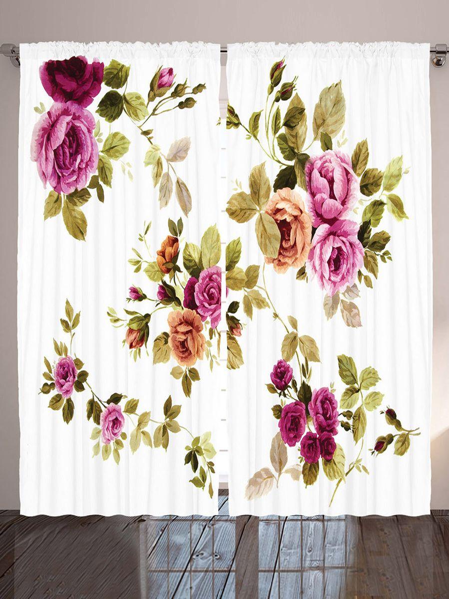Комплект фотоштор Magic Lady Акварельные розы, на ленте, высота 265 см. шсг_9138шсг_9138Компания Сэмболь изготавливает шторы из высококачественного сатена (полиэстер 100%). При изготовлении используются специальные гипоаллергенные чернила для прямой печати по ткани, безопасные для человека и животных. Экологичность продукции Magic lady и безопасность для окружающей среды подтверждены сертификатом Oeko-Tex Standard 100. Крепление: крючки для крепления на шторной ленте (50 шт). Возможно крепление на трубу. Внимание! При нанесении сублимационной печати на ткань технологическим методом при температуре 240°С, возможно отклонение полученных размеров (указанных на этикетке и сайте) от стандартных на + - 3-5 см. Производитель старается максимально точно передать цвета изделия на фотографиях, однако искажения неизбежны и фактический цвет изделия может отличаться от воспринимаемого по фото. Обратите внимание! Шторы изготовлены из полиэстра сатенового переплетения, а не из сатина (хлопок). Размер одного полотна шторы: 145х265 см. В комплекте 2...