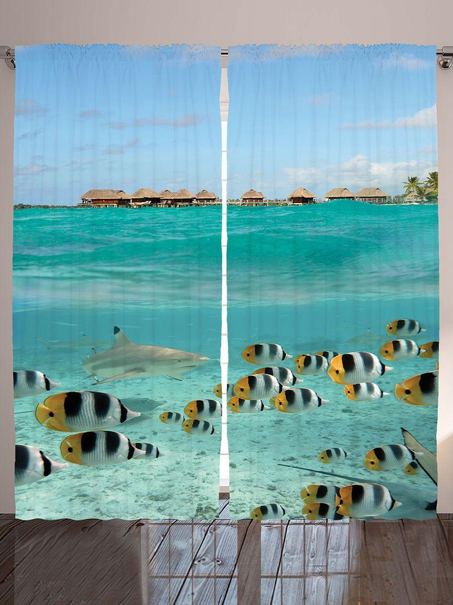 Комплект фотоштор Magic Lady На охоте хищная акула, на ленте, высота 265 см. шсг_9241шсг_9241Компания Сэмболь изготавливает шторы из высококачественного сатена (полиэстер 100%). При изготовлении используются специальные гипоаллергенные чернила для прямой печати по ткани, безопасные для человека и животных. Экологичность продукции Magic lady и безопасность для окружающей среды подтверждены сертификатом Oeko-Tex Standard 100. Крепление: крючки для крепления на шторной ленте (50 шт). Возможно крепление на трубу. Внимание! При нанесении сублимационной печати на ткань технологическим методом при температуре 240°С, возможно отклонение полученных размеров (указанных на этикетке и сайте) от стандартных на + - 3-5 см. Производитель старается максимально точно передать цвета изделия на фотографиях, однако искажения неизбежны и фактический цвет изделия может отличаться от воспринимаемого по фото. Обратите внимание! Шторы изготовлены из полиэстра сатенового переплетения, а не из сатина (хлопок). Размер одного полотна шторы: 145х265 см. В комплекте 2...