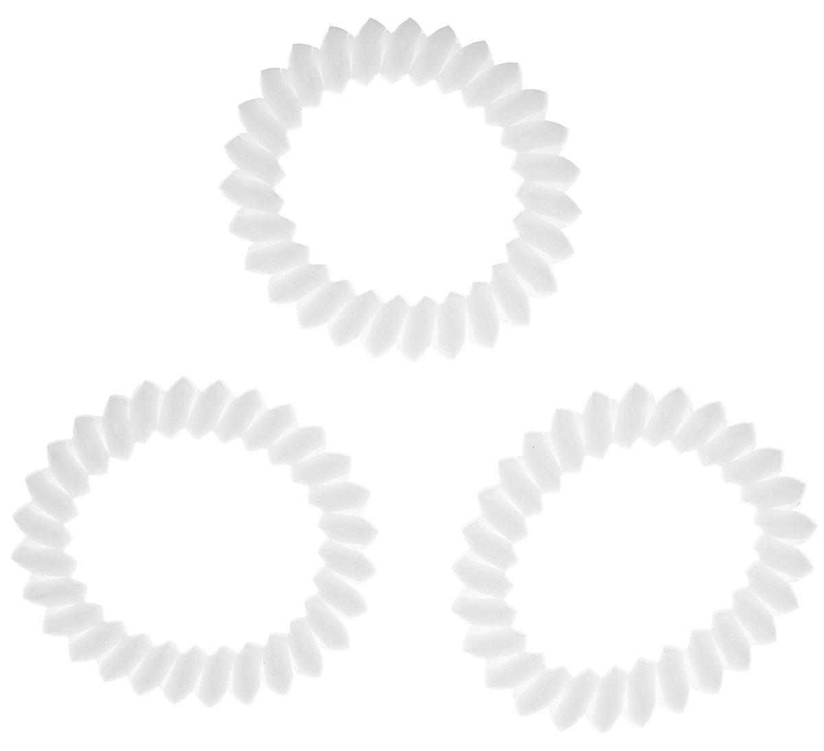 Резинка для волос Mitya Veselkov Cloudy White, цвет: белый, 3 шт. ELASTIC-BR-WHITEELASTIC-BR-WHITEЯркие резинки-браслеты Mitya Veselkov выполнены из качественного ПВХ. Столь необычная форма резинок дает множество преимуществ. Резинка не оставляет заломов на волосах. При длительном ношении, снимая ее, вы не почувствуете усталость волос. Оригинально смотрится на волосах. Отлично сохраняет свою форму и надежно фиксирует прическу. Не мокнет. Не травмирует волосы. В отличие от обычных резинок, нет трения, зажимов отдельных волосков или прядей. Также их можно использовать как стильные браслеты.