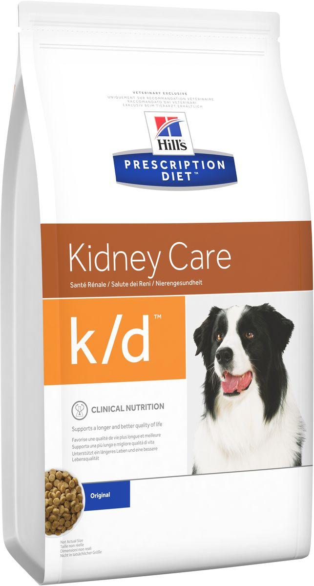Корм сухой диетический Hills K/D для собак, для лечения заболеваний почек, 2 кг8658Сухой корм для собак Hills K/D - полноценный диетический рацион для собак для поддержания функции почек при почечной недостаточности. Содержит пониженный уровень фосфора и оптимальный уровень протеинов высокой биологической ценности. Подтверждено клинически - рацион с пониженным содержанием белка и фосфора уменьшает проявление клинических признаков заболеваний почек, увеличивает продолжительность и улучшает качество жизни собаки. - Превосходный вкус понравится вашей собаке. - Супер Антиоксидантная формула помогает сохранить здоровье почек. Рекомендации по кормлению: суточную норму можно разделить на 2 и более кормлений в день. Рекомендуемая продолжительность диетотерапии: до 6 месяцев (от 2 до 4 недель в случае острой почечной недостаточности). Обеспечьте питомца постоянным свободным доступом к свежей воде. Состав: зерновые злаки, масла и жиры, яйцо и его производные, экстракты растительного белка, мясо и пептиды животного...