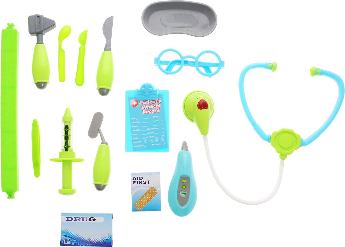 Junfa Toys Игровой набор Family Doctor 14 предметов