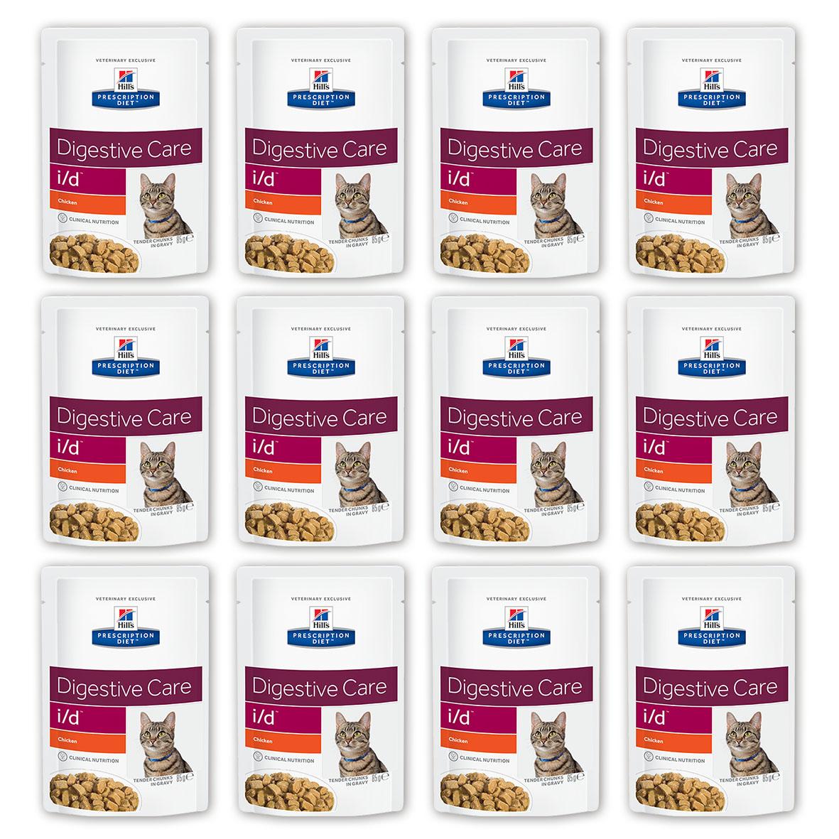 Консервы Hills Prescription Diet. I/D для кошек с заболеваниями ЖКТ, с курицей, 85 г, 12 шт3407_12Консервы Hills Prescription Diet. I/D рекомендуются: - При заболеваниях желудочно-кишечного тракта: гастрите, энтерите, колите (наиболее распространенные причины диареи). - Для восстановления после хирургической операции на желудочно-кишечном тракте. - При недостаточности экзокринной функции поджелудочной железы. - При панкреатите без гиперлипидемии. - Для восстановления после легких хирургических процедур и состояний, незначительно ослабляющих организм. - Для котят в качестве повседневного питания. Обеспечивает полноценное сбалансированное питание котятам (в течение короткого периода) и взрослым кошкам. Не рекомендуется кошкам с задержкой натрия в организме. Ключевые преимущества: - Высокая перевариваемость продукта улучшает всасывание нутриентов и способствует восстановлению желудочно-кишечного тракта. - Содержание жиров снижено, что помогает уменьшить стеаторею (маслянистый стул). - Повышенное содержание...