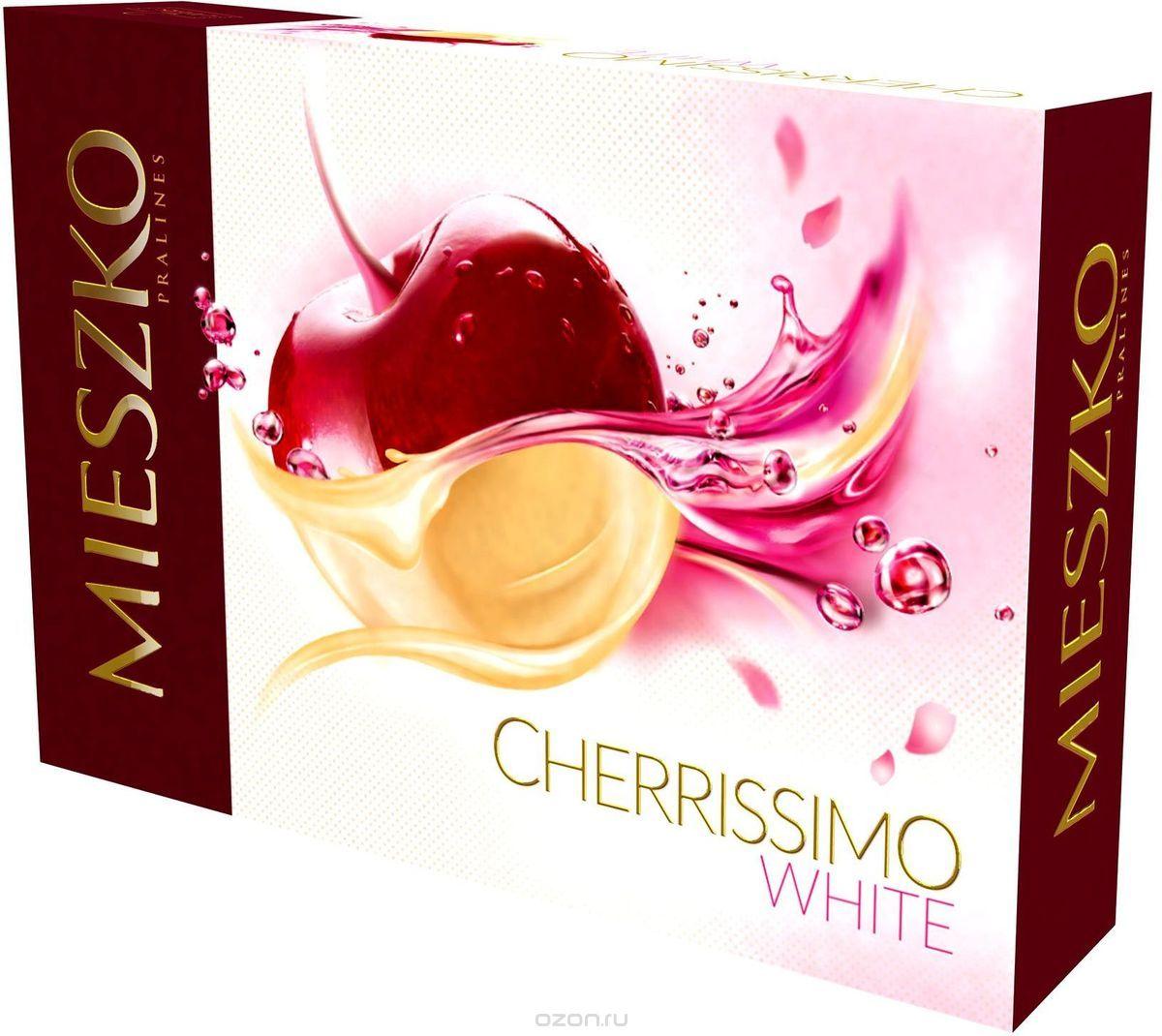 Mieszko Черрисимо Белое набор шоколадных конфет, 295 г 10970