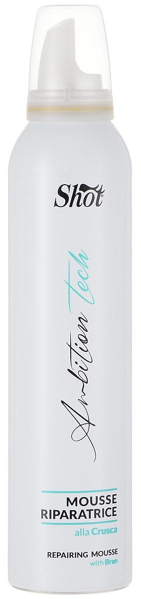 Shot Love Hair - Восстанавливающий мусс с отрубями 250 млSH5223-SHLH109Отруби, входящие в состав мусса Шот, глубоко питают волосы, способствуют восстановлению структуры волос и наполняют их живительной влагой. Уникальная формула мусса подарит вашим волосам невероятный сияющий блеск и наполнит их живительной силой и энергией. Результат: - Регулярное использование мусса Shot прекрасным образом оздоровит ваши волосы, вернет им природную мягкость, эластичность и здоровый сияющий блеск. Состав: - отруби.