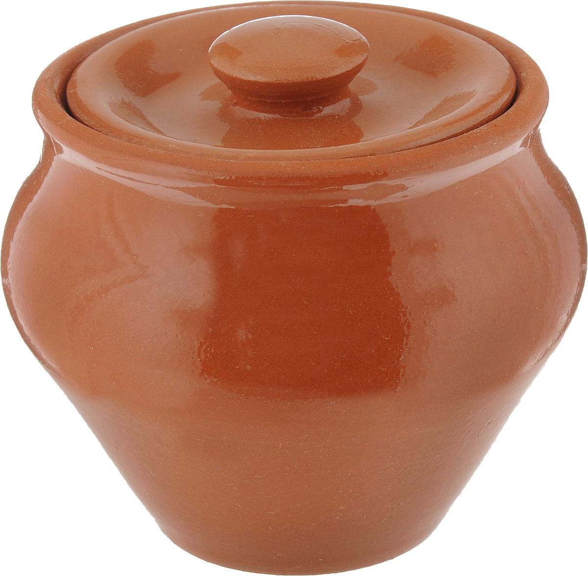 Горшок для запекания Пилот МС, с крышкой, цвет: оранжевый, 0,25 лГП 0,25Горшок с крышкой для запекания Пилот МС выполнен из высококачественной керамики. Уникальные свойства керамики и толстые стенки изделия обеспечивают эффект русской печи при приготовлении блюд. Блюда, приготовленные в таком горшочке, получаются нежными и сочными. Вы сможете приготовить мясо, сделать томленые овощи и все это без капли масла. Это один из самых здоровых способов готовки. Предназначен горшок для приготовления блюд в духовом шкафу и микроволновой печи. Диаметр горшка (по верхнему краю): 7,5 см. Высота стенок: 7 см.