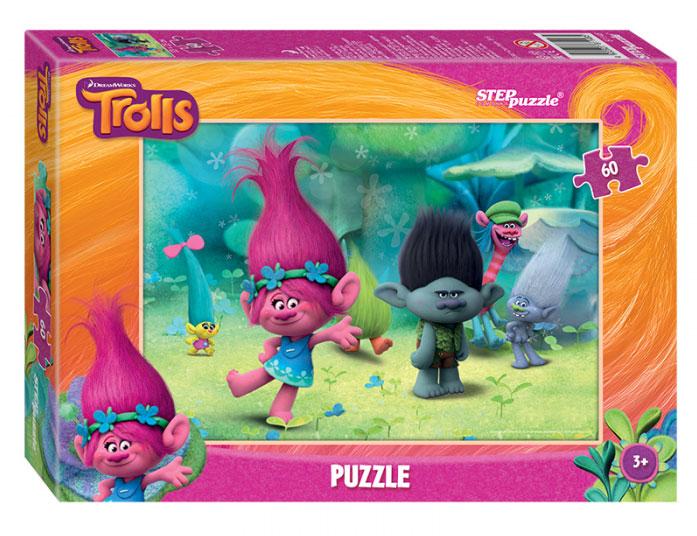 Step Puzzle Пазл для малышей Trolls 81148  step puzzle пазл для малышей trolls 91222
