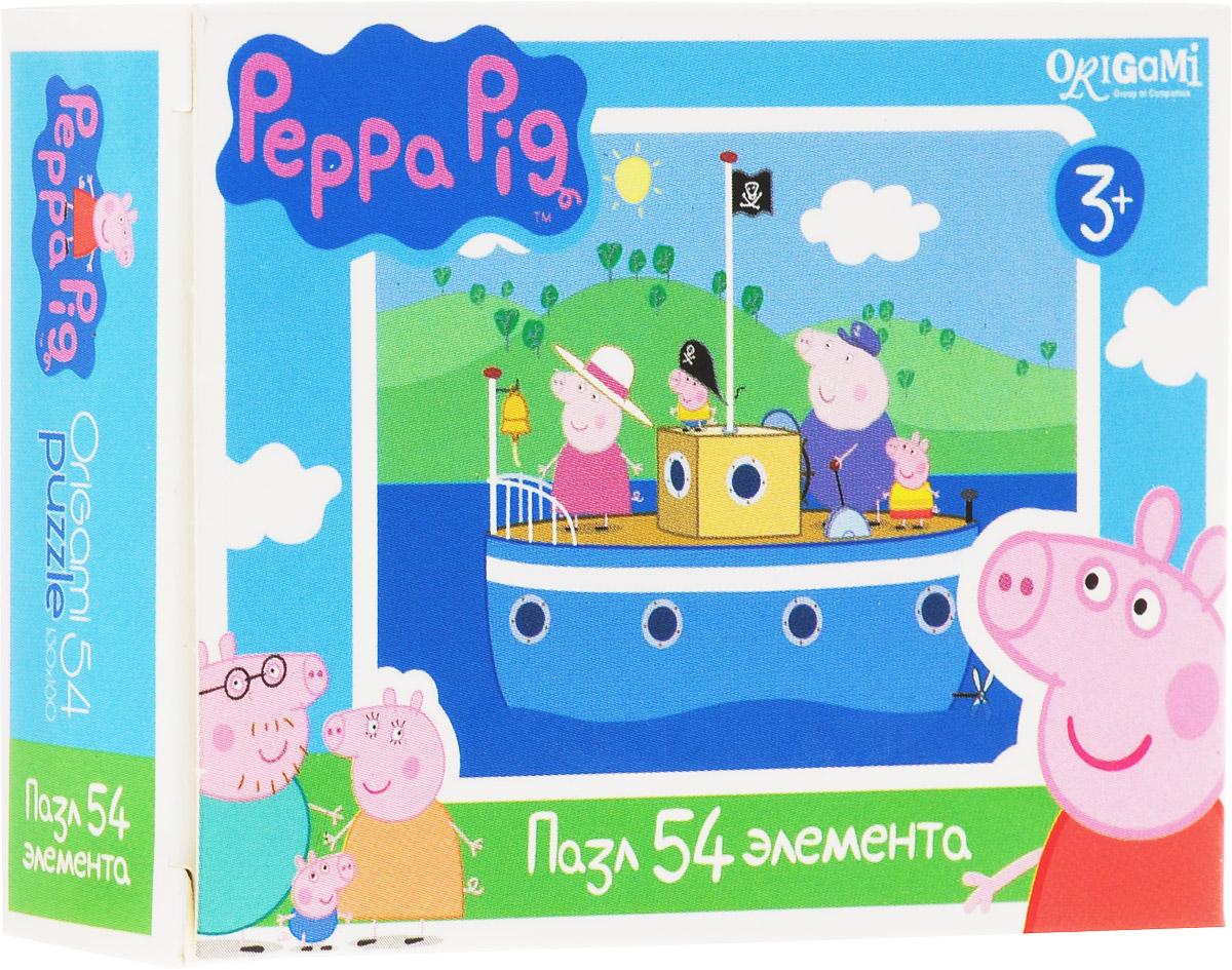 Оригами Мини-пазл Peppa Pig На корабле
