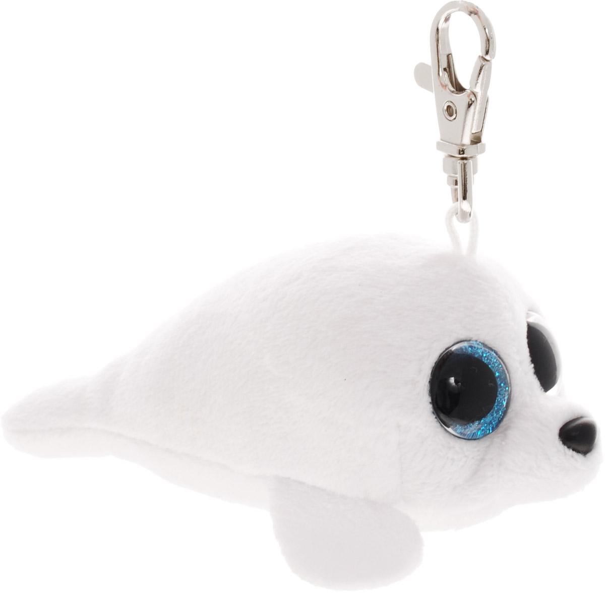 TY Брелок Белый тюлень Icy