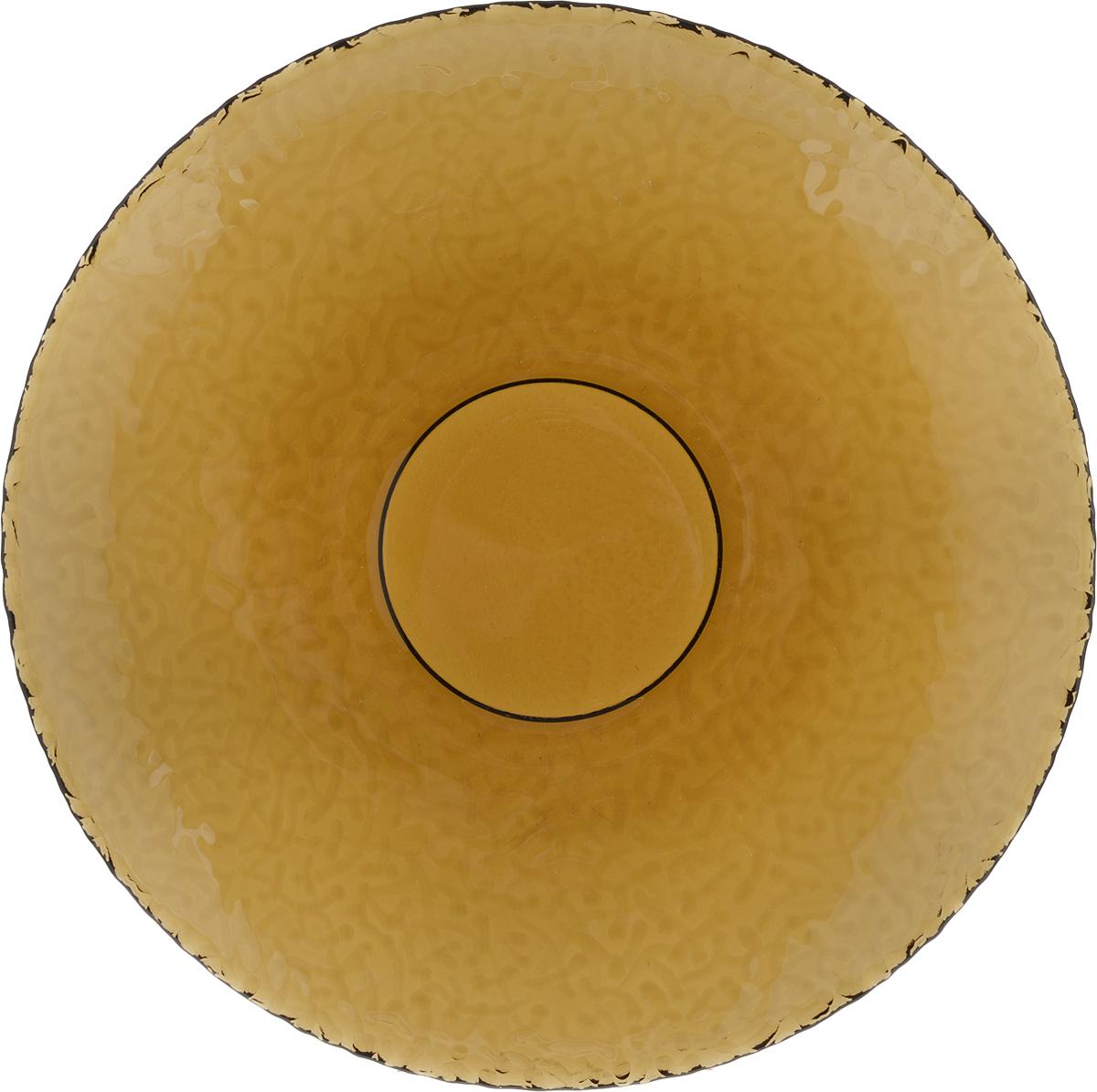 Тарелка NiNaGlass Ажур, цвет: дымчатый, диаметр 21 см83-070-ф210 ДЫМТарелка NiNaGlass Ажур выполнена из высококачественного стекла и имеет рельефную поверхность. Она прекрасно впишется в интерьер вашей кухни и станет достойным дополнением к кухонному инвентарю. Тарелка NiNaGlass Ажур подчеркнет прекрасный вкус хозяйки и станет отличным подарком. Диаметр тарелки: 21 см. Высота: 2,5 см.