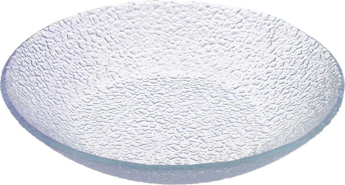 Тарелка Vellarti, цвет: светло-сиреневый, диаметр 20 см10-20 сирТарелка Vellarti выполнена из высококачественного стекла и имеет рельефную внешнюю поверхность. Она прекрасно впишется в интерьер вашей кухни и станет достойным дополнением к кухонному инвентарю. Тарелка Vellarti подчеркнет прекрасный вкус хозяйки и станет отличным подарком. Диаметр тарелки: 20 см. Высота: 4 см.