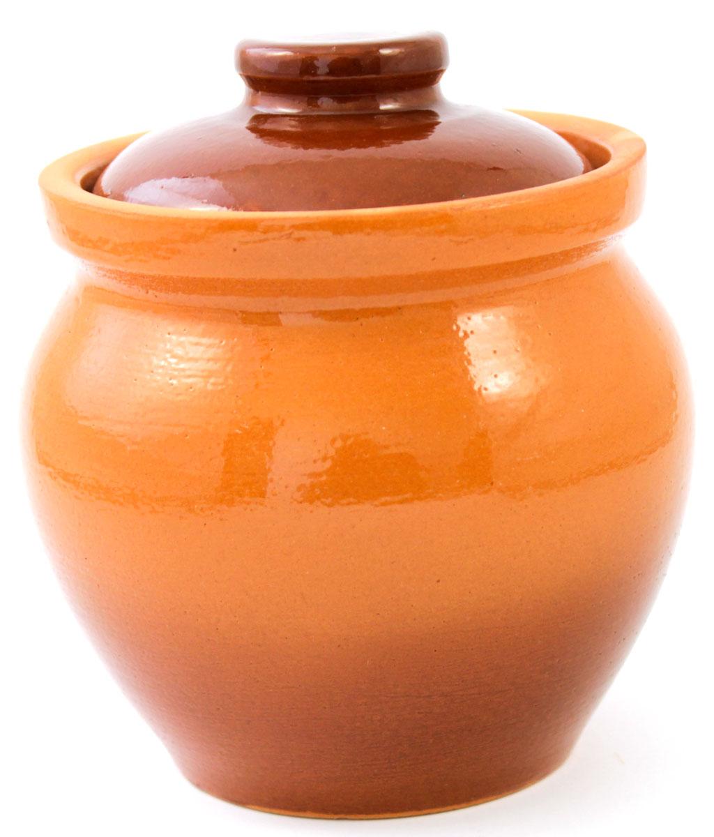 Горшок для запекания Ломоносовская керамика, с крышкой, 600 мл1Г3-6Горшок для запекания Ломоносовская керамика с крышкой выполнен из высококачественной глины. Уникальные свойства глины и толстые стенки изделия обеспечивают эффект русской печи при приготовлении блюд. Блюда, приготовленные в керамическом горшке, получаются нежными и сочными. Вы сможете приготовить мясо, сделать томленые овощи и все это без капли масла. Это один из самых здоровых способов готовки.