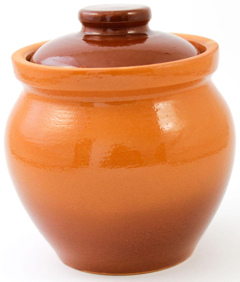 Горшок для запекания Ломоносовская керамика, с крышкой, 400 мл1Г3-10Горшок для запекания Ломоносовская керамика с крышкой выполнен из высококачественной глины. Уникальные свойства глины и толстые стенки изделия обеспечивают эффект русской печи при приготовлении блюд. Блюда, приготовленные в керамическом горшке, получаются нежными и сочными. Вы сможете приготовить мясо, сделать томленые овощи и все это без капли масла. Это один из самых здоровых способов готовки.