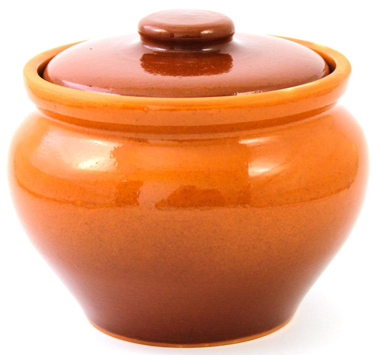 Горшок для запекания Ломоносовская керамика, с крышкой, цвет: коричневый, 800 мл1Г3-11Горшок для запекания Ломоносовская керамика с крышкой выполнен из высококачественной глины. Уникальные свойства глины и толстые стенки изделия обеспечивают эффект русской печи при приготовлении блюд. Блюда, приготовленные в керамическом горшке, получаются нежными и сочными. Вы сможете приготовить мясо, сделать томленые овощи и все это без капли масла. Это один из самых здоровых способов готовки.
