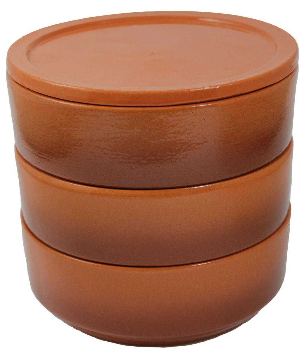 Набор блюд для холодца Ломоносовская керамика, цвет: коричневый, 700 мл, 3 шт2Н3-17Блюда Ломоносовская керамика, изготовленные из глины, предназначены для приготовления и хранения заливного или холодца. Также блюда можно использовать для приготовления и хранения салатов. Такие блюда украсят сервировку вашего стола и подчеркнут прекрасный вкус хозяйки. Диаметр блюда: 15 см, Высота блюда: 5,5 см, Объем блюда: 700 мл.