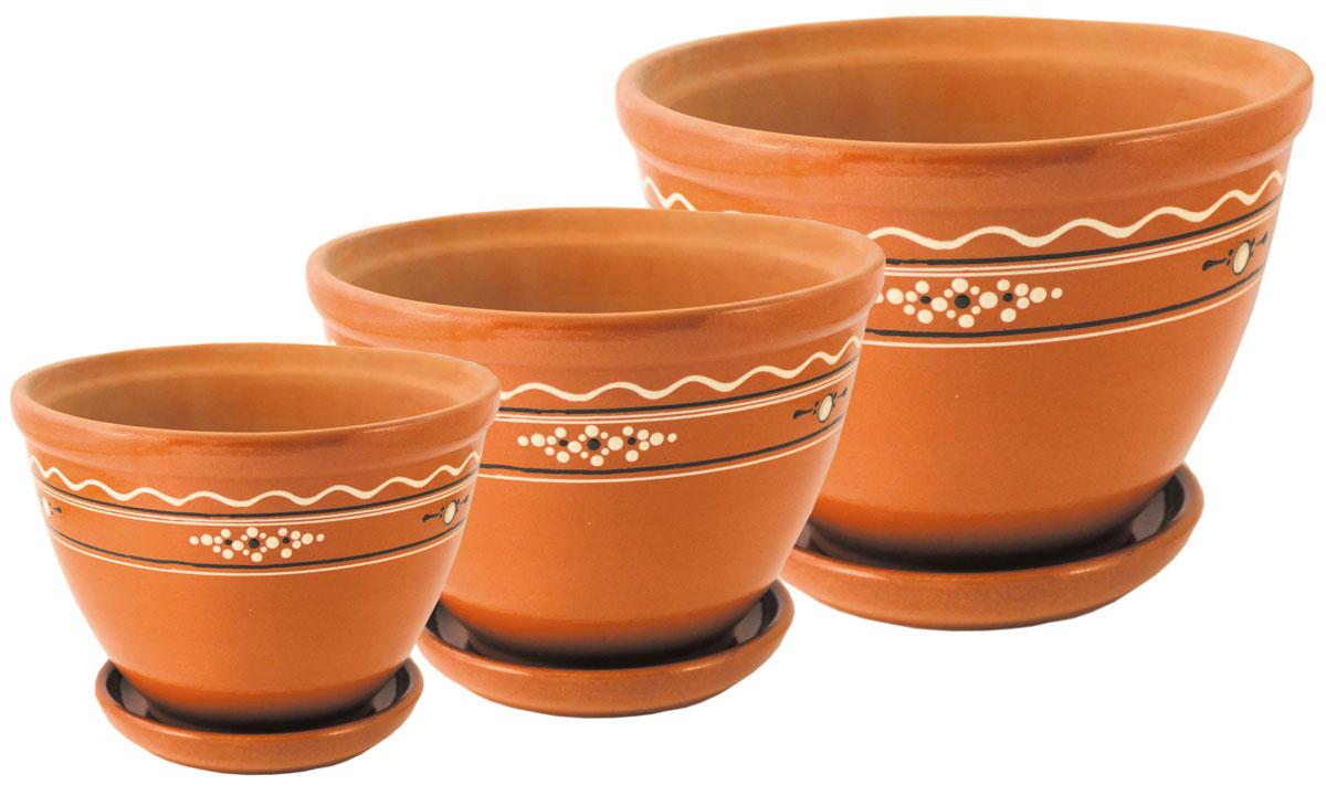 Цветочник Ломоносовская керамика Конус. Диаметр: 14 см. 3Цк3-13Цк3-1