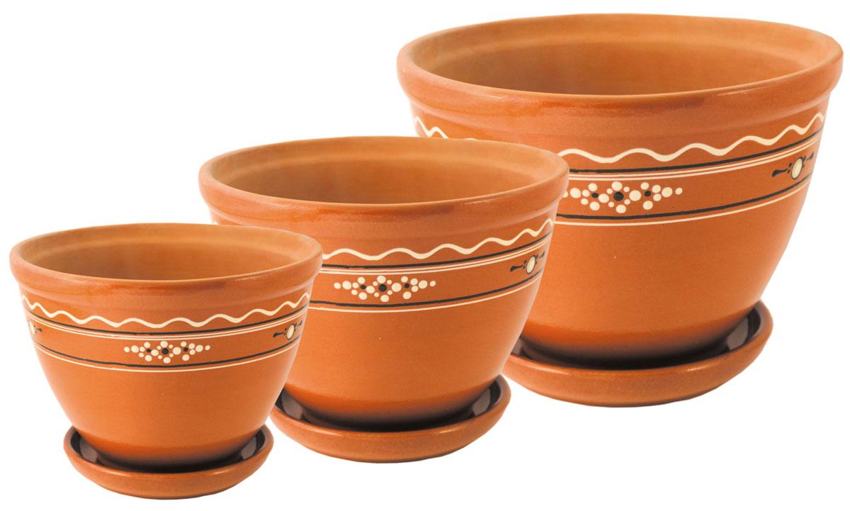 Цветочник Ломоносовская керамика Конус. Диаметр: 18 см. 3Цк3-23Цк3-2