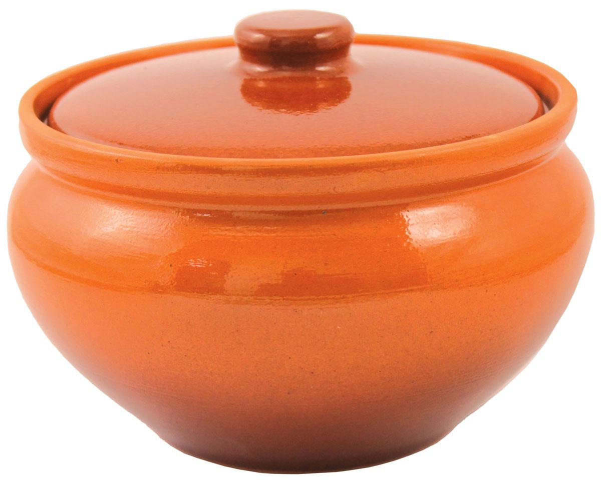 Горшок для запекания Ломоносовская керамика, с крышкой, 1 л1Г3-4Горшок для запекания Ломоносовская керамика с крышкой выполнен из высококачественной глины. Уникальные свойства глины и толстые стенки изделия обеспечивают эффект русской печи при приготовлении блюд. Блюда, приготовленные в керамическом горшке, получаются нежными и сочными. Вы сможете приготовить мясо, сделать томленые овощи и все это без капли масла. Это один из самых здоровых способов готовки.