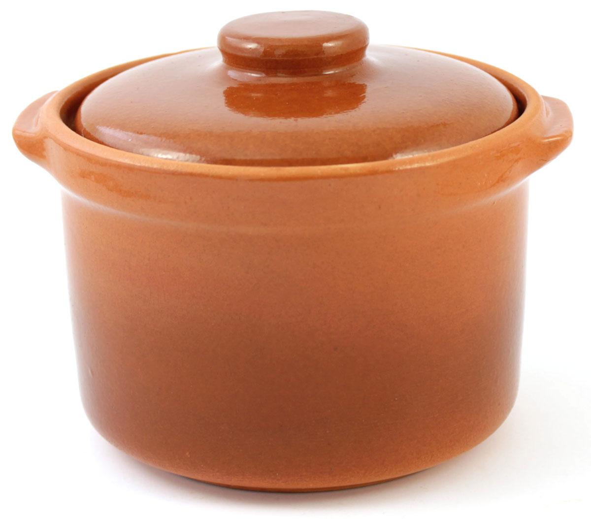 Кастрюля керамическая Ломоносовская керамика с крышкой, цвет: коричневый, 600 мл1ГС3-4Кастрюля Ломоносовская керамика выполнена из высококачественной глины. Покрытие абсолютно безопасно для здоровья, не содержит вредных веществ. Кастрюля оснащена удобными боковыми ручками и керамической крышкой. Она плотно прилегает к краям посуды, сохраняя аромат блюд.
