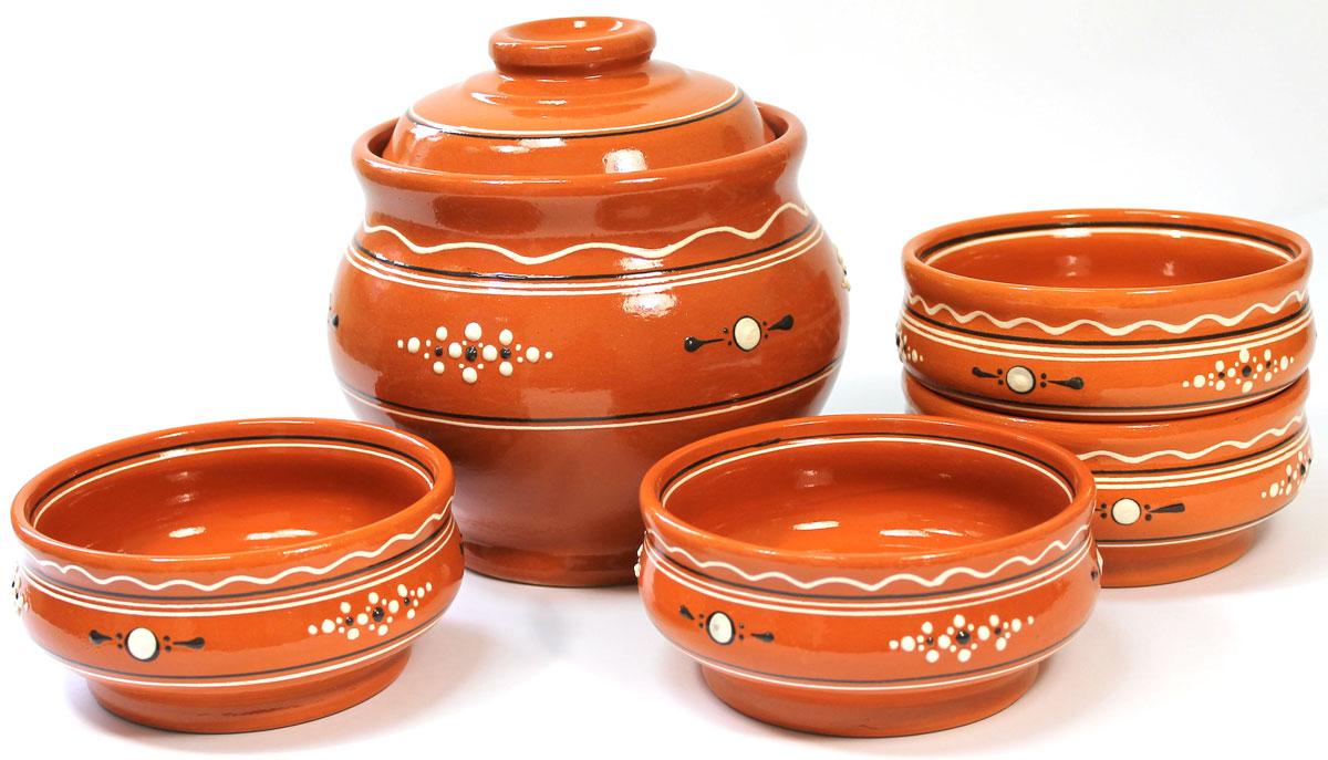 Набор для каши Ломоносовская керамика, 5 штЛ0878