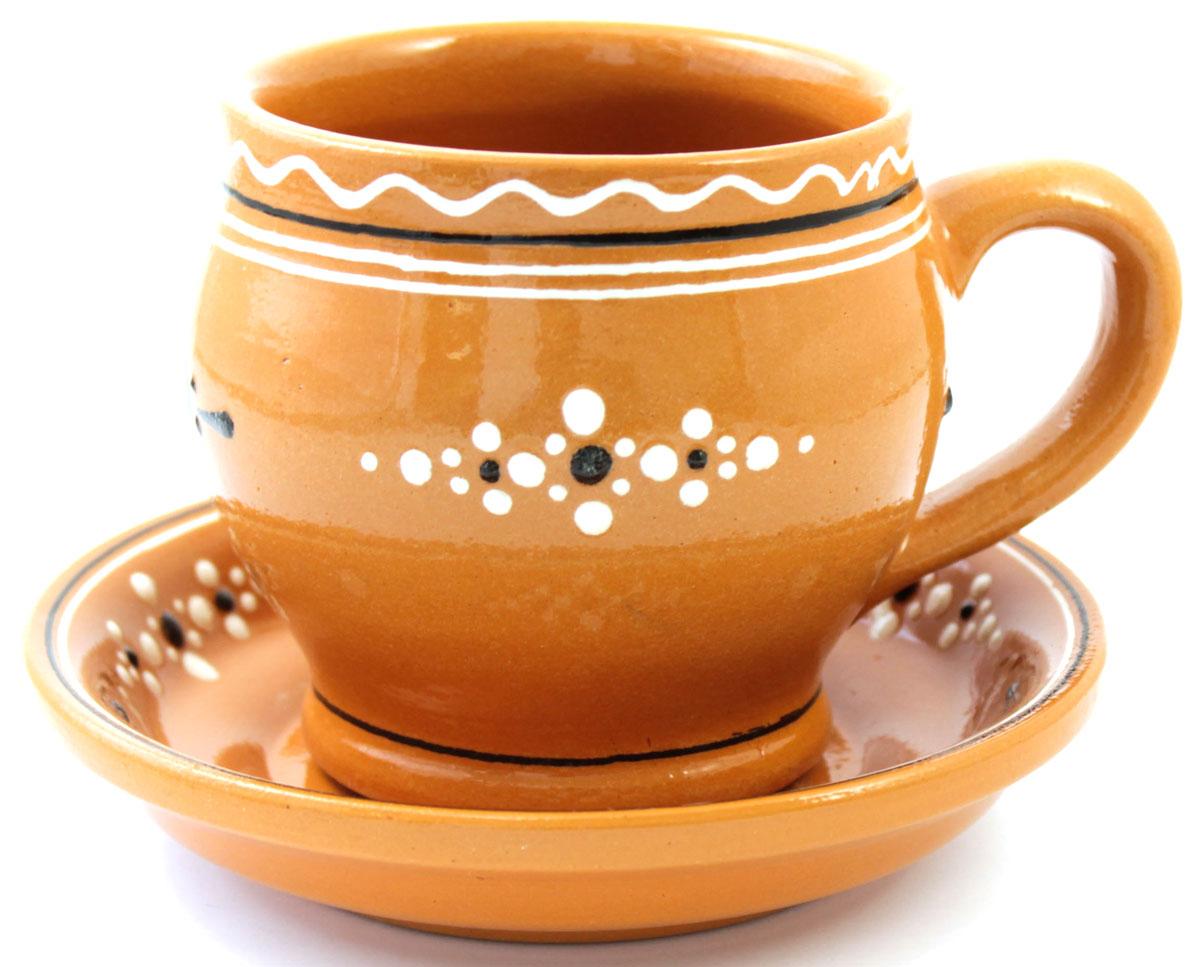 Чайная пара Ломоносовская керамика, 300 млЛ0873