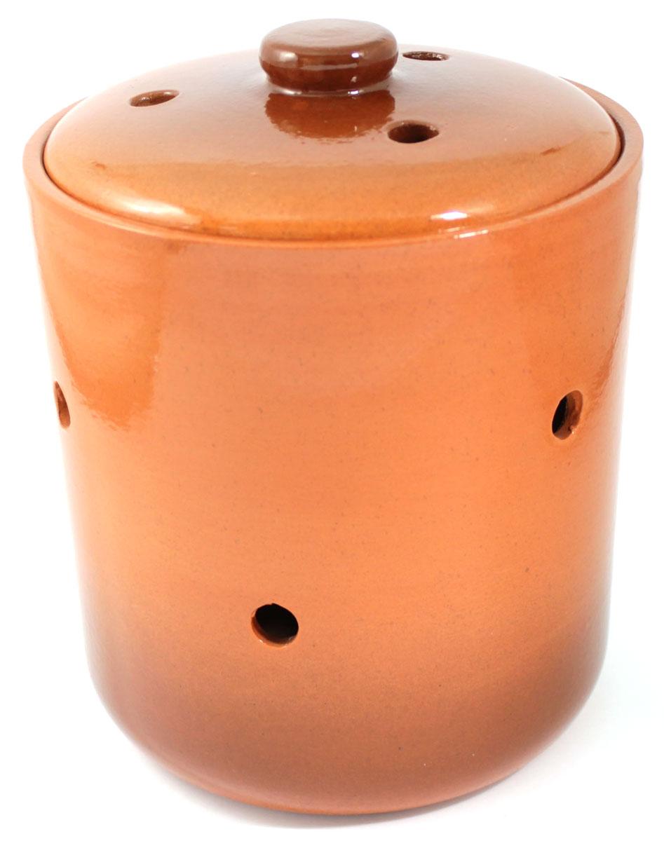 Банка для сыпучих продуктов Ломоносовская керамика, 4,5 л1Б3-3Банка для сыпучих продуктов Ломоносовская керамика, изготовленная из высококачественной глины, станет незаменимым помощником на любой кухне. В ней будет удобно хранить сыпучие продукты, такие, как чай, кофе, соль, сахар, крупы, макароны и многое другое. Емкость плотно закрывается крышкой. Яркий дизайн банки позволит украсить любую кухню, внеся разнообразие как в строгий классический стиль, так и в современный кухонный интерьер.